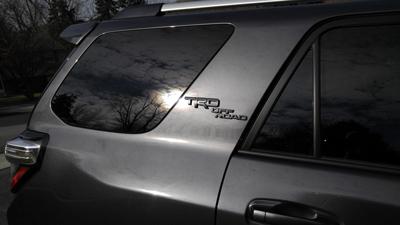 TRD Off Road Black Out Kit On Gray 4Runner