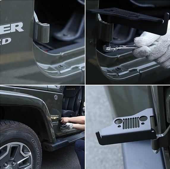 7 slot jeep foot pegs
