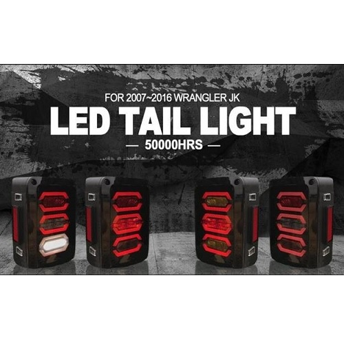 aftermarket jeep led taillights