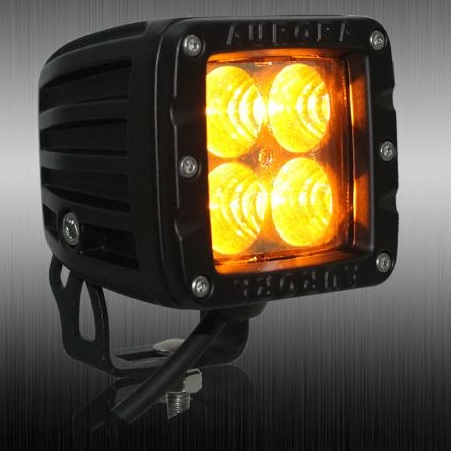 amber led cube lights