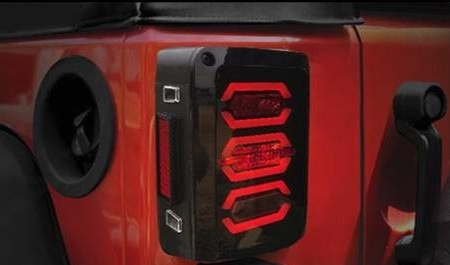 2007 2017 Jeep Jk Led Tail Lights 4 In 1 Brake Reverse