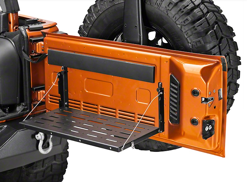 2006-2017 jeep wrangler tailgate table
