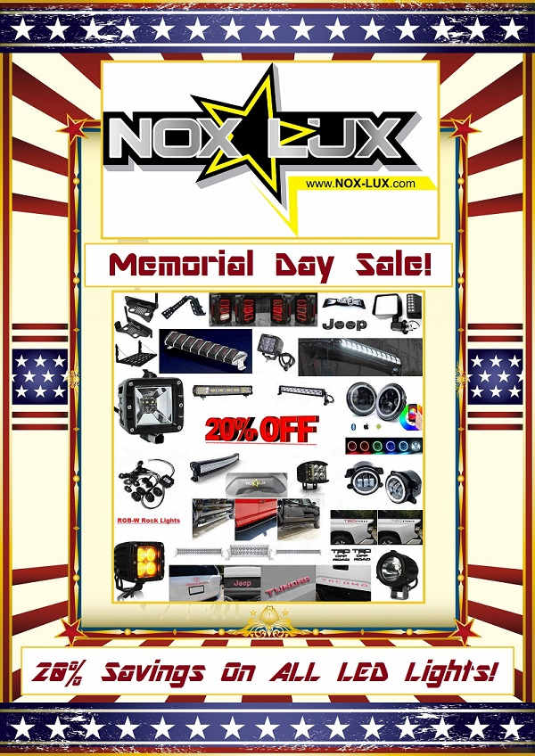offroad memorial day sale 2018