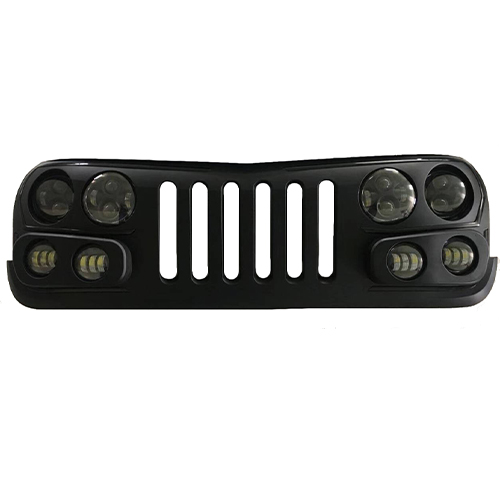 jeep jk dynamic DRL night rider led grille kit