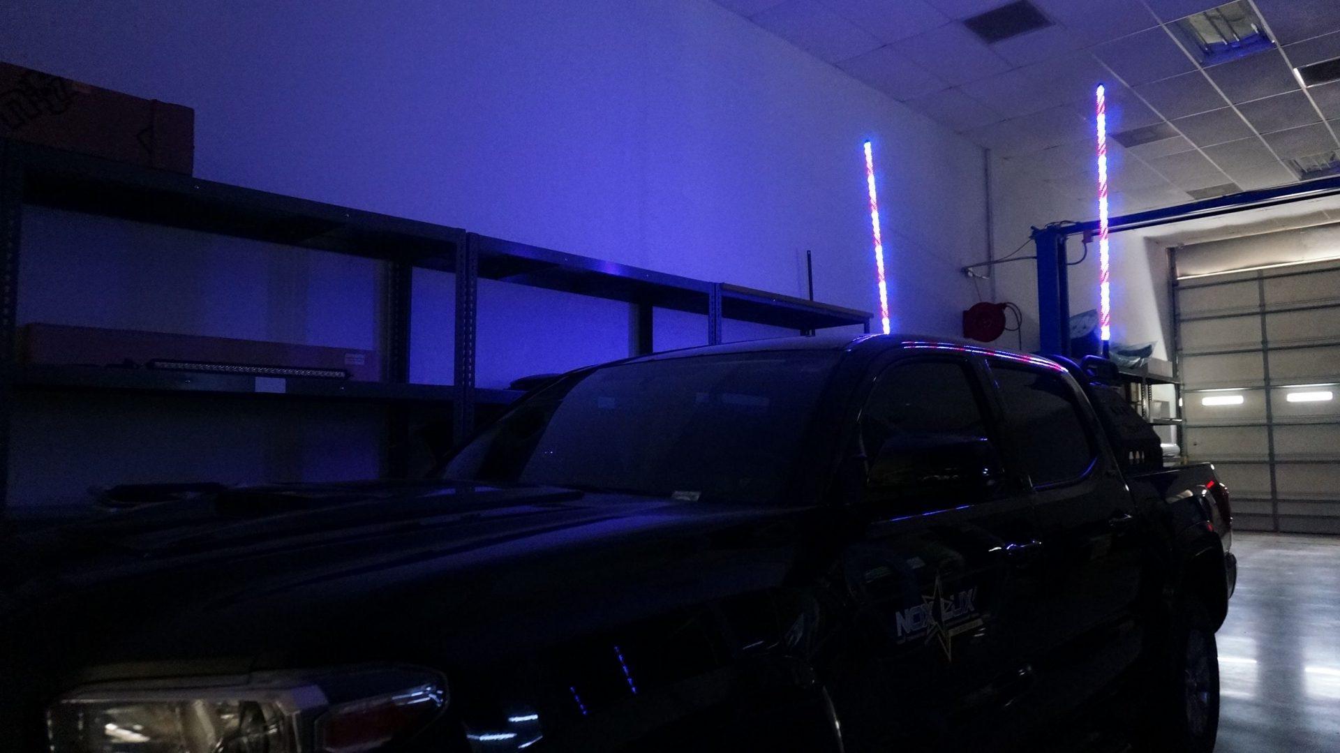 RGBW LED Whip Light